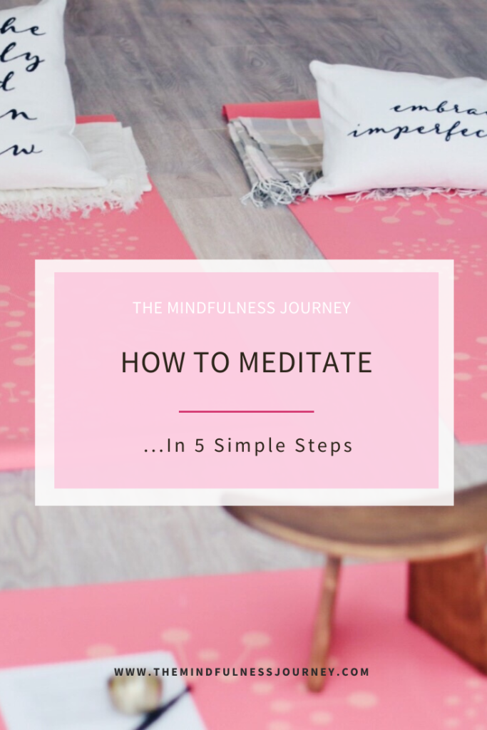 How to meditate | 5 steps to meditate | The mindfulness Journey | Charlene | Toronto