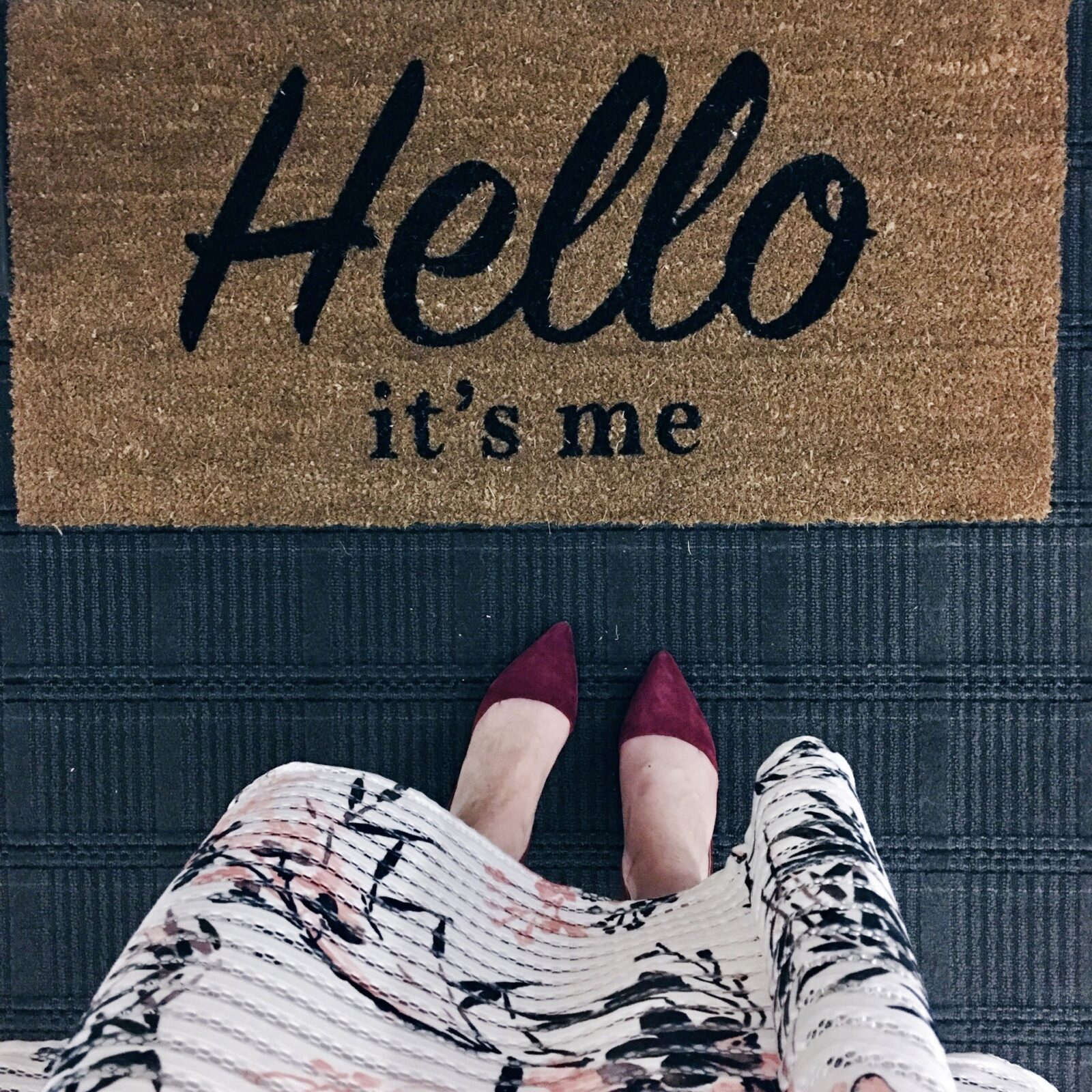 Welcome Mat | The Mindfulness Journey | Meditation