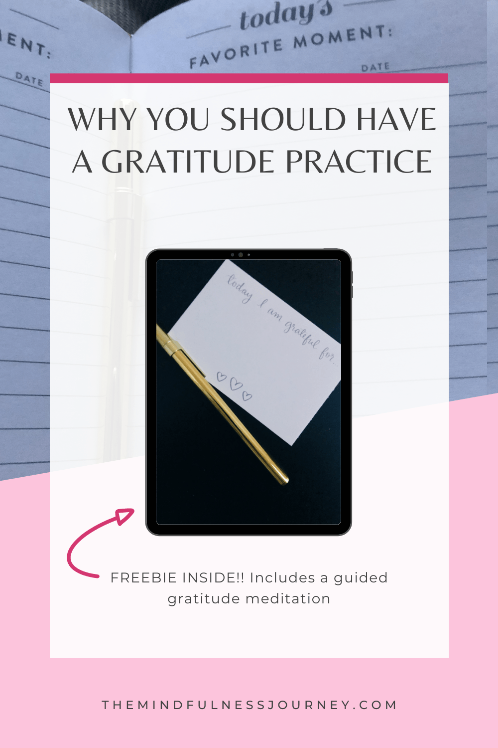 why you should have a gratitude practice + free guided meditation
