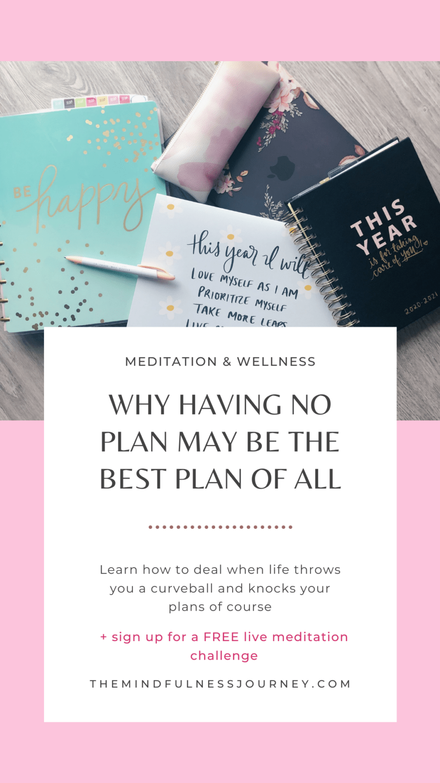 Why having no plan may be the best plan of all