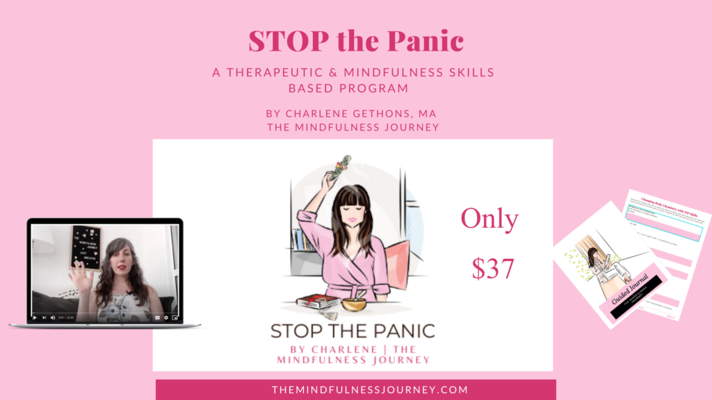 STOP the panic, mindfulness and therapeutic strategies for stress and overwhelm